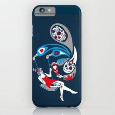 Swinging with La Muerta iPhone 6s Slim Case