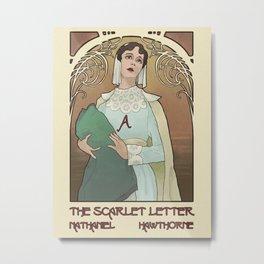 Mock Cover - The Scarlet Letter Metal Print
