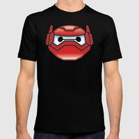 Robot in Disguise MEDIUM Mens Fitted Tee Black