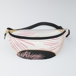 Gold & Pink Fanny Pack