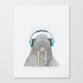 The better to Hear You / Para Oírte Mejor Canvas Print