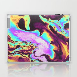 WHEN THE NIGHT IS OVER Laptop & iPad Skin