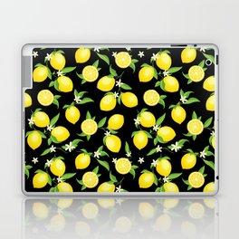 You're the Zest - Lemons on Black Laptop & iPad Skin