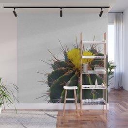 Cactus Flower Wall Mural
