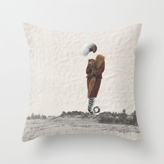 the ? Throw Pillow