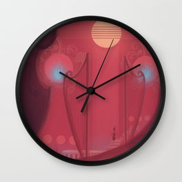 Sense the sounds Wall Clock