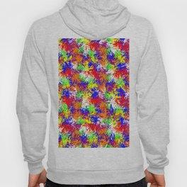 Vibrant Trippy Jiggle Pattern Hoody