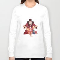 valentines Long Sleeve T-shirts featuring Happy Valentines  by DustyLeaves