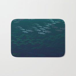 Fish Under The Storm Bath Mat