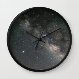 Milky Way, Jupiter & Saturn Wall Clock