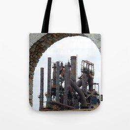 Bethlehem Steel Blast Furnace 6 Tote Bag