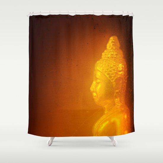Buddha from Thailand  Shower Curtain