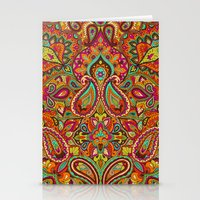 paisley Stationery Cards featuring Paisley by Aimee St Hill