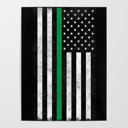 Thin Green Line Poster