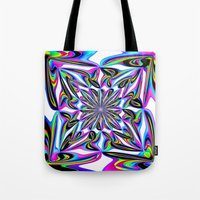 ornate Tote Bags featuring Ornate by David  Gough