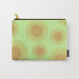 Summer flowers - Green Carry-All Pouch