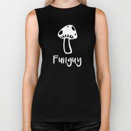 Veggie I'm a Funguy Mushroom Biker Tank
