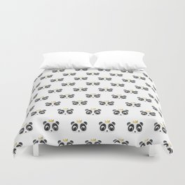 Panda King [Pattern] Duvet Cover