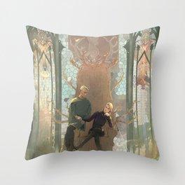A New Court Throw Pillow