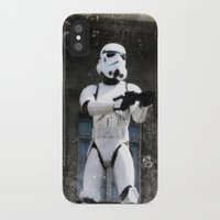 storm trooper iPhone & iPod Cases featuring Storm Trooper by BuyArt