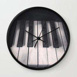 Tickle The Ivories Wall Clock