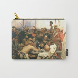 Ilya Repin Reply of the Zaporozhian Cossacks Carry-All Pouch