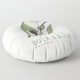 Rockodile Floor Pillow