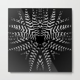 Black and White Prints Metal Print