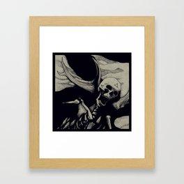 Vebaek hunter Framed Art Print