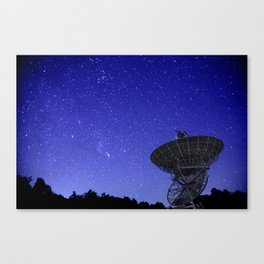 Watching the Sky Canvas Print