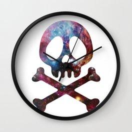 Space pirate Wall Clock