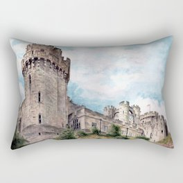Warwick Castle Rectangular Pillow