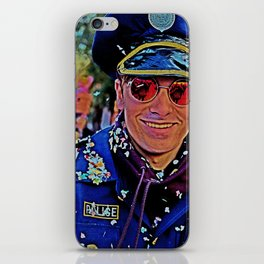 Mr.Policeman iPhone Skin