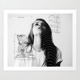 MADE OF EARTH Art Print