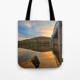 Point of Rocks Sunset Tote Bag
