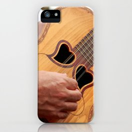 Typical Azores guitar iPhone Case