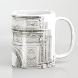 Washington Square Park Arch Coffee Mug