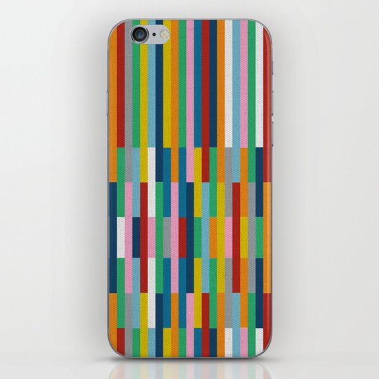 Bricks Rotate #3 iPhone & iPod Skin