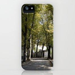 Cimetiere de Montmartre iPhone Case