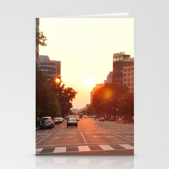 Washington Heat Stationery Cards
