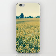 Beyond The Flowers  iPhone Skin