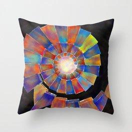 Volsopolis - forgotten future Throw Pillow