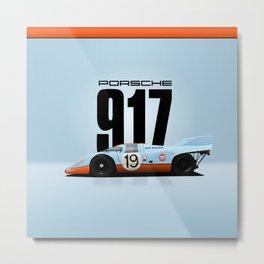 917-026 (031) - Gulf Racing Metal Print