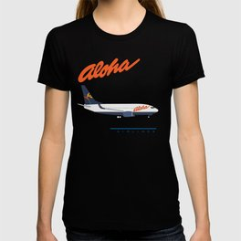 Aloha Airlines 737 T-shirt