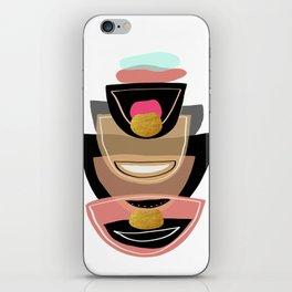 Modern minimal forms 16 iPhone Skin