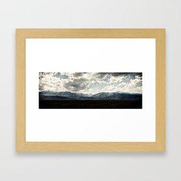 Bridgeport Valley (color) Framed Art Print