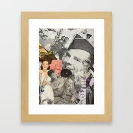 Married to War Framed Art Print