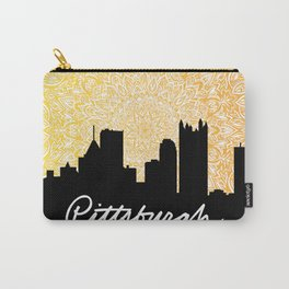 Pittsburgh Mandala Sunset Carry-All Pouch