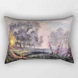 On the Sunset Rectangular Pillow