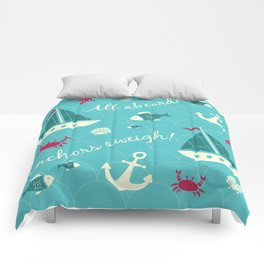 Anchor's aweigh Comforters